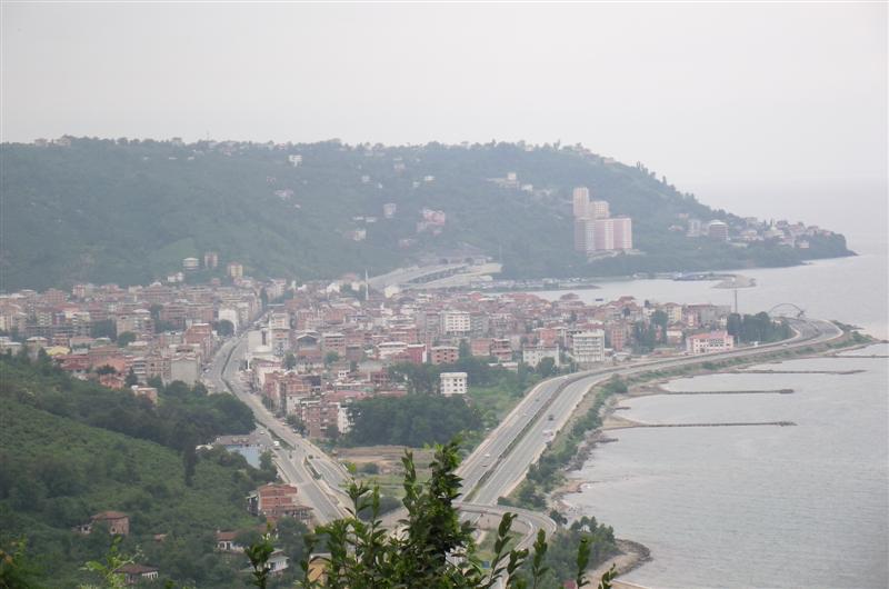 Sürmene-Of arası Manzara ve doğal güzellikler