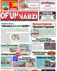 Of'un Nabzı Gazetesi 104. Sayısı