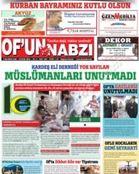 Of'un Nabzı Gazetesi 105. Sayısı