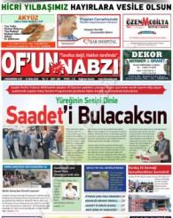 Of'un Nabzı Gazetesi 106. Sayısı