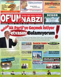 Of'un Nabzı Gazetesi 107. Sayısı