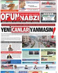 Of'un Nabzı Gazetesi 108. Sayısı