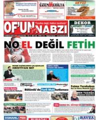 Of'un Nabzı Gazetesi 110. Sayısı