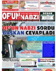 Of'un Nabzı Gazetesi 111. Sayısı