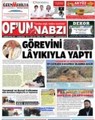 Of'un Nabzı Gazetesi 112. Sayısı
