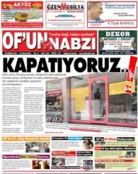 Of'un Nabzı Gazetesi 115. Sayısı