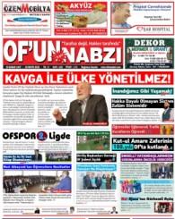 Of'un Nabzı Gazetesi 116. Sayısı