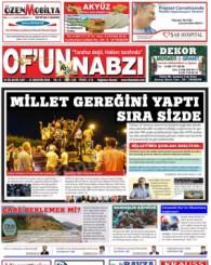 Of'un Nabzı Gazetesi 119. Sayısı