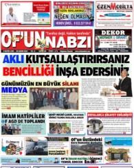 Of'un Nabzı Gazetesi 122. Sayısı