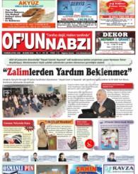 Of'un Nabzı Gazetesi 95. Sayısı