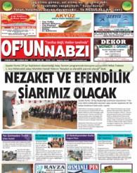 Of'un Nabzı Gazetesi 98. Sayısı