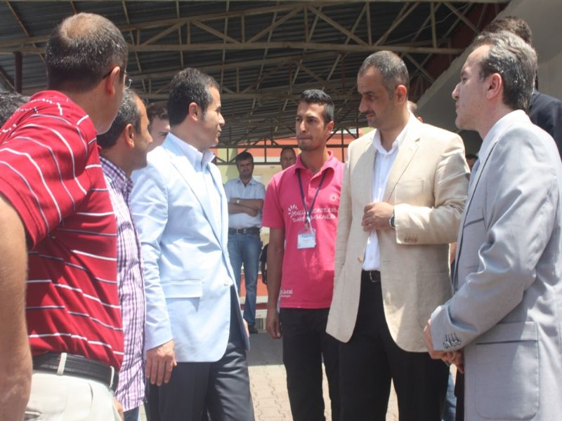 Gençlik ve Spor Bakanı Suat Kılıç baba ocağı Of'ta