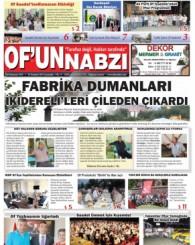 Of'un Nabzı Gazetesi 61. Sayısı