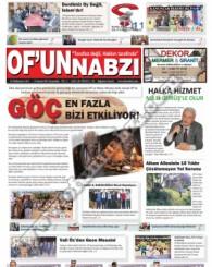 Of'un Nabzı Gazetesi 69. Sayısı