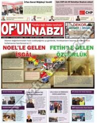 Of'un Nabzı Gazetesi 72. Sayısı