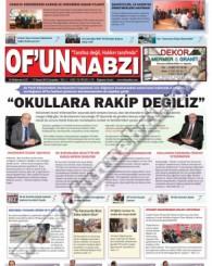 Of'un Nabzı Gazetesi 70. Sayısı