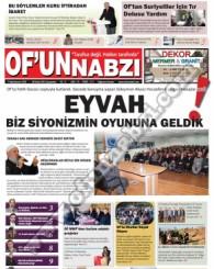 Of'un Nabzı Gazetesi 73. Sayısı