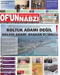 Of'un Nabzı Gazetesi 74. Sayısı