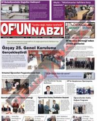 Of'un Nabzı Gazetesi 80. Sayısı
