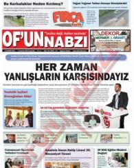 Of'un Nabzı Gazetesi 83. Sayısı