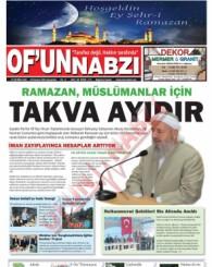 Of'un Nabzı Gazetesi 84. Sayısı