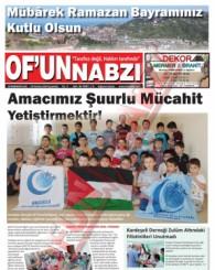 Of'un Nabzı Gazetesi 86. Sayısı