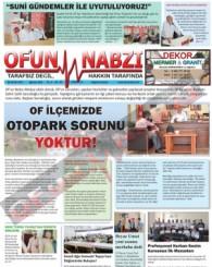 Of'un Nabzı Gazetesi 87. Sayısı