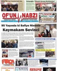 Of'un Nabzı Gazetesi 90. Sayısı
