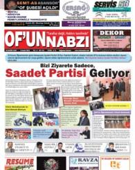Of'un Nabzı Gazetesi 91. Sayısı