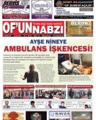 Of'un Nabzı Gazetesi 92. Sayısı