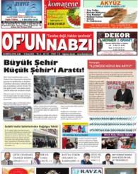 Of'un Nabzı Gazetesi 93. Sayısı
