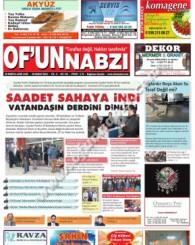 Of'un Nabzı Gazetesi 94. Sayısı