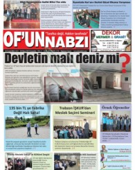 Of'un Nabzı Gazetesi 56. Sayısı