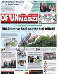 Of'un Nabzı Gazetesi 57. Sayısı