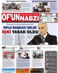 Of'un Nabzı Gazetesi 58. Sayısı