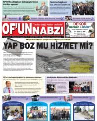 Of'un Nabzı Gazetesi 59. Sayısı