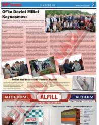 Of'un Nabzı Gazetesi 82. Sayısı