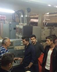 Öğrenciler TRT Verici İstasyonu'nu Ziyaret Etti