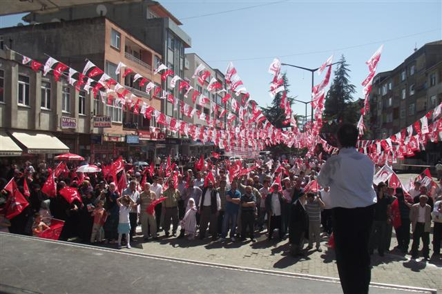 Saadet Partisi Of Mitingi 09 haziran 2011