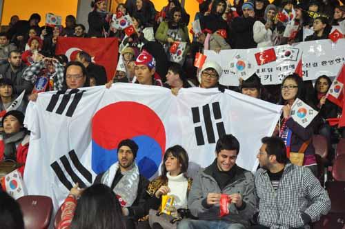 Avni Aker'de milli maç Türkiye- G. Kore