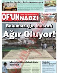 Of'un Nabzı Gazetesi 85. Sayısı