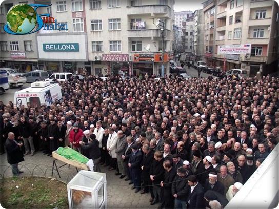 Muhammet oğlu Halim Yılmaz'ın Cenazesi