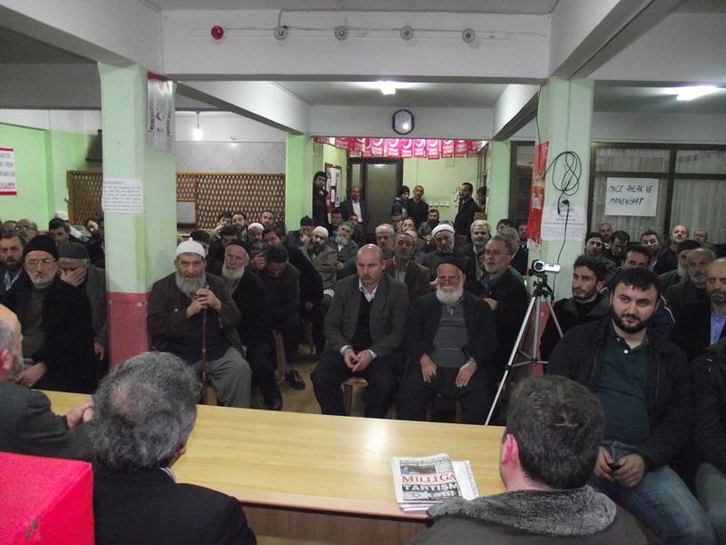 Saadet Partisi 2011 Ocak Ayı İlçe Divan Toplantısı