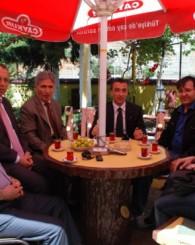 Of'un çayı için Ankara'dan geldiler