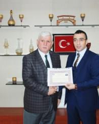 Arslan'dan Milli Eğitim Personeline Başarı Belgesi
