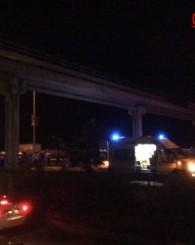 Of Sahil Yolunda Trafik Kazası