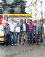 Şoförler Odası Başkanı Er taksicileri ziyaret etti