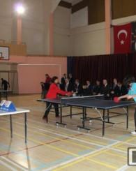 Okullar arası Masa Tenisi Turnuvaları Sona Erdi