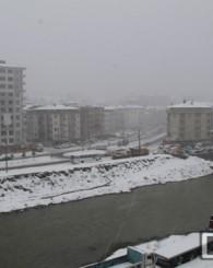 Of İlçesinde 2015 Yılının İlk Kar Yağışı