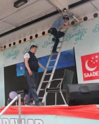 Saadet Partisi Of'ta 'Serbest Kürsü' kurdu